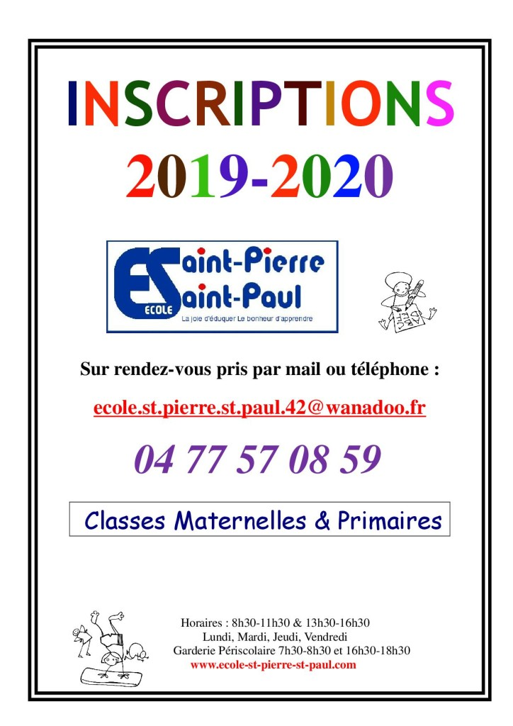 INSCRIPTIONS-2019-2020